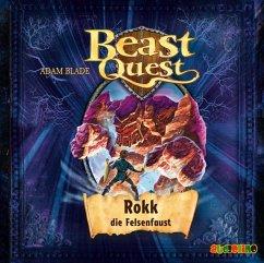 Rokk, die Felsenfaust / Beast Quest Bd.27 (1 Audio-CD) - Blade, Adam
