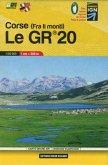 Carte Grand Air Le GR 20 Corse, randonnée et patrimoine
