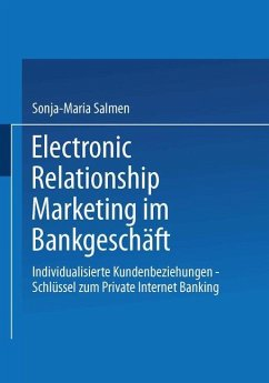 Electronic Relationship Marketing im Bankgeschäft - Salmen, Sonja-Maria
