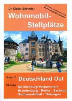 Wohnmobil-Stellplätze Deutschland Ost