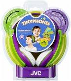 JVC HA-KD 5 V Kinder On-Ear Kopfhörer violett