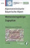 Alpenvereinskarte Wettersteingebirge, Zugspitze