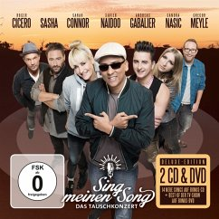 Sing meinen Song - Das Tauschkonzert, 2 Audio-CDs + 1 DVD (Deluxe-Edition) - Diverse