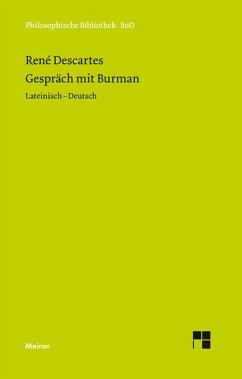 Gespräch mit Burman (eBook, PDF) - Descartes, René