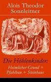 Die Höhlenkinder: Heimlicher Grund + Pfahlbau + Steinhaus (eBook, ePUB)