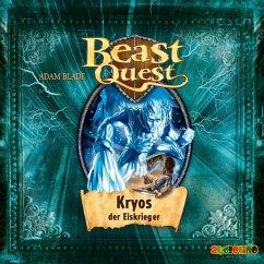 Kryos, der Eiskrieger / Beast Quest Bd.28 (1 Audio-CD) - Blade, Adam