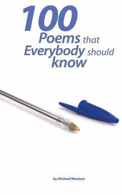 100 Poems that everyone should read (eBook, ePUB)