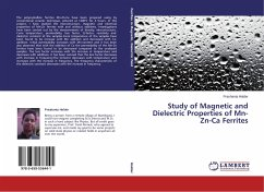 Study of Magnetic and Dielectric Properties of Mn-Zn-Ca Ferrites