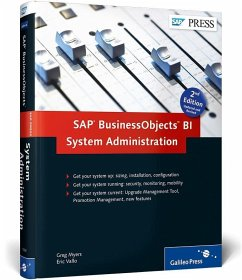 SAP BusinessObjects BI System Administration - Myers, Greg; Vallo, Eric