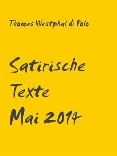 Satirische Texte (eBook, ePUB)