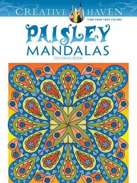 Creative Haven Paisley Mandala Coloring Book