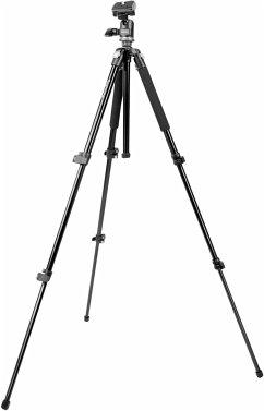 mantona Scout MAX Stativ mit Kugelkopf, 157cm, Kamerastativ