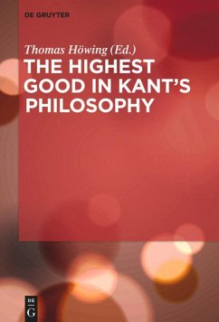 The Highest Good in Kant's Philosophy