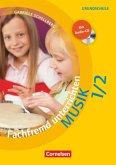 Fachfremd unterrichten - Musik Klasse 1/2 - Kopiervorlagen mit Webcode und Audio-CD