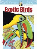 Creative Haven Exotic Birds Coloring Book