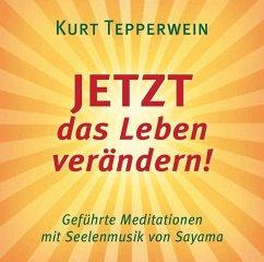 JETZT das Leben verändern!, 1 Audio-CD - Tepperwein, Kurt