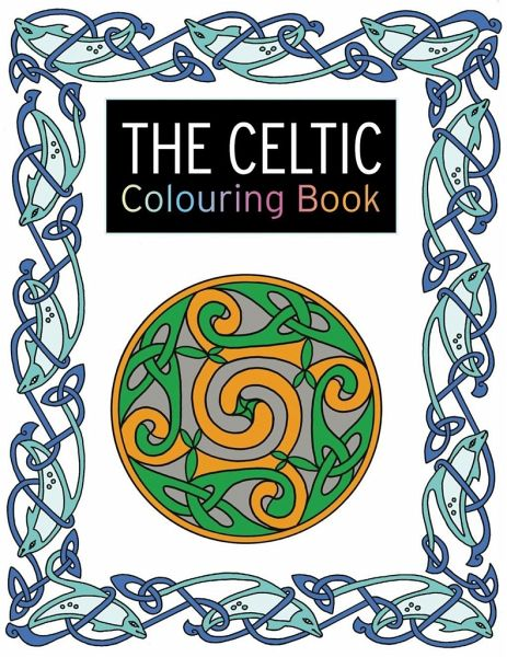 The Celtic Colouring Book Von Lesley Davies