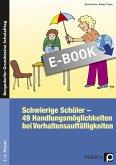 Schwierige Schüler - Grundschule (eBook, PDF)