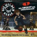 Der Angriff der Unbesiegbaren / Die Wilden Kerle Bd.1 (1 Audio-CD)