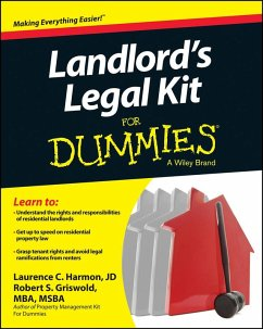 Landlord's Legal Kit For Dummies (eBook, ePUB) - Griswold, Robert S.; Harmon, Laurence