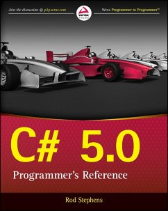C# 5.0 Programmer's Reference (eBook, ePUB) - Stephens, Rod