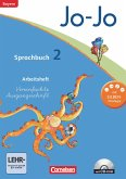 Jo-Jo Sprachbuch - Grundschule Bayern. 2. Jahrgangsstufe - Arbeitsheft in Vereinfachter Ausgangsschrift mit CD-ROM
