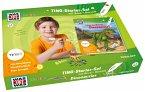 Was ist was Ting-Starter-Set Dinosaurier. Kinderbuch Dinos und Hörstift