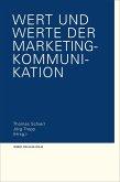 Wert und Werte der Marketing-Kommunikation (eBook, PDF)