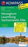 Kompass Karte Herzogtum Lauenburg, Sachsenwald, Elbe