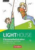 English G LIGHTHOUSE 03: 7. Schuljahr. Klassenarbeitstrainer mit Lösungen und Audios Online
