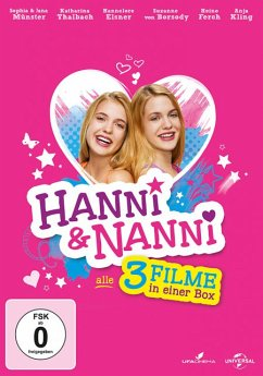 Hanni & Nanni 1-3 DVD-Box - Sophia Münster,Jana Münster,Hannelore Elsner