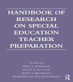 Handbook of Research on Special Education Teacher Preparation (eBook, ePUB)