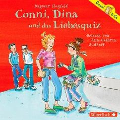 Conni, Dina und das Liebesquiz / Conni & Co Bd.10 (MP3-Download) - Hoßfeld, Dagmar