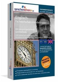 Englisch-Fachwortschatz-Vokabeltrainer, PC CD-R...