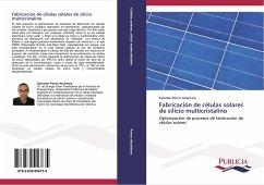 Fabricación de células solares de silicio multicristalino
