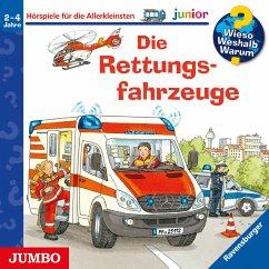 Die Rettungsfahrzeuge / Wieso? Weshalb? Warum? Junior Bd.23 (MP3-Download) - Erne, Andrea; Metzger, Wolfgang