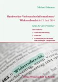 Handwerker Verbraucherinformationen/Widerrufsrecht ab 13. Juni 2014 (eBook, PDF)