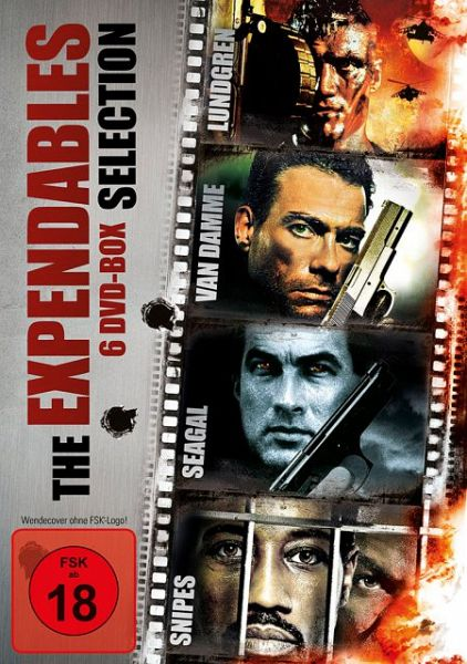 the expendables selection 6 discs auf dvd portofrei bei b. Black Bedroom Furniture Sets. Home Design Ideas