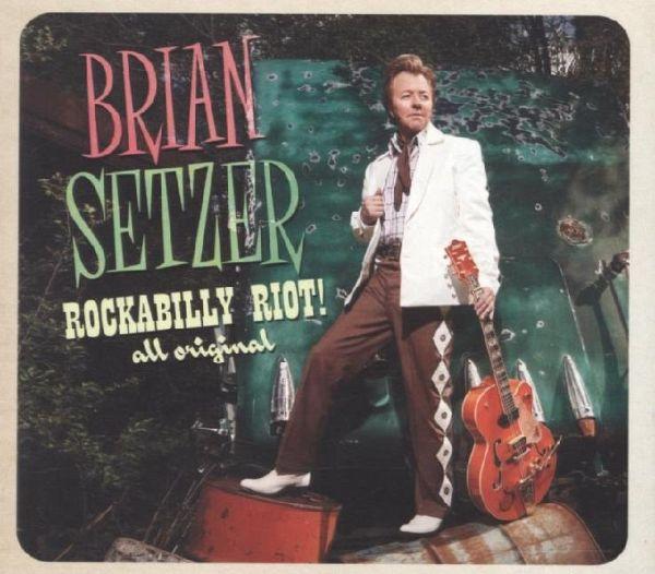 rockabilly riot all original 1 audio cd von brian setzer auf audio cd portofrei bei b. Black Bedroom Furniture Sets. Home Design Ideas
