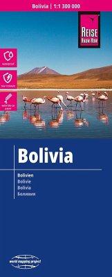 Reise Know-How Landkarte Bolivien / Bolivia / Bolivie
