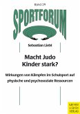 Macht Judo Kinder stark? (eBook, PDF)