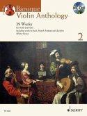 Baroque Violin Anthology, violin and piano, w. Audio-CD