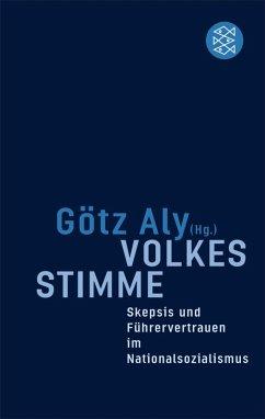 Volkes Stimme (eBook, ePUB) - Aly, Götz