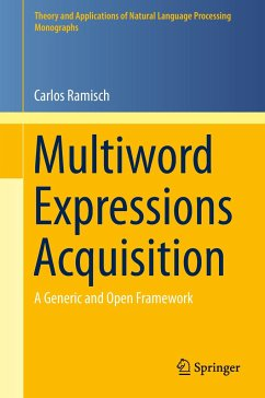 Multiword Expressions Acquisition - Ramisch, Carlos