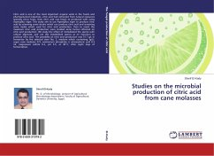 Studies on the microbial production of citric acid from cane molasses