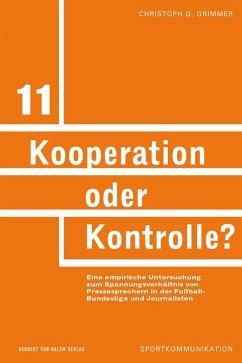 Kooperation oder Kontrolle? (eBook, PDF) - Grimmer, Christoph G.