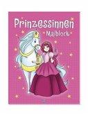 Malblock mit Glitzersteinen - Prinzessinnen