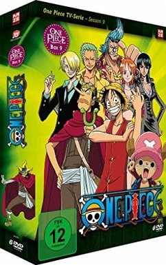 One Piece - Box 9: Season 9 - Episoden 264-294 DVD-Box