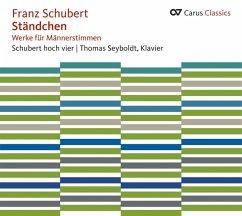 Ständchen-Werke Für Männerstimmen - Schubert Hoch Vier/Seyboldt/Karlsruher Hornquartet