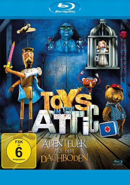 toys in the attic abenteuer auf dem dachboden film auf blu ray disc. Black Bedroom Furniture Sets. Home Design Ideas